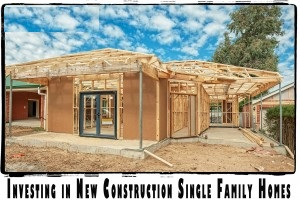 New construction single family rentals